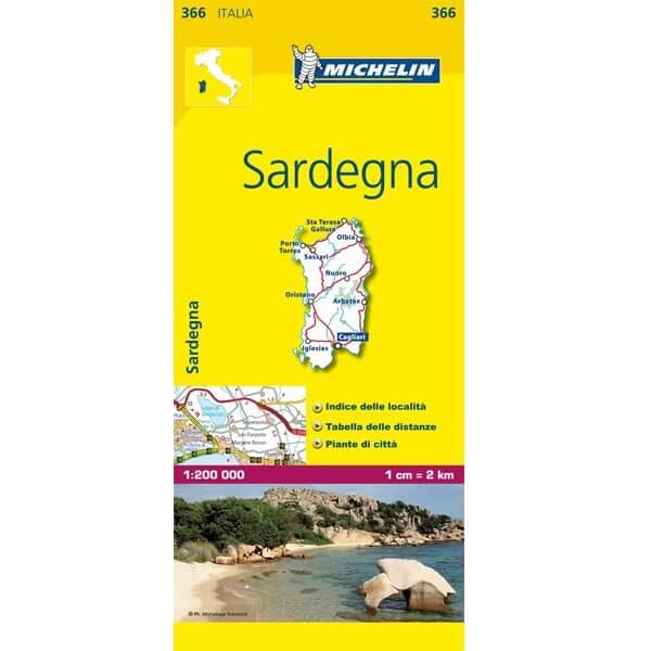 Michelinkaart Sardegna nr 366