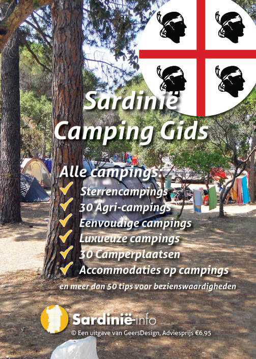 Cover Sardinie camping gids